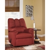 Darcy Fabric Rocker Recliner - Salsa - FLSH-FSD-1109REC-RED-GG