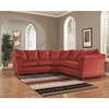 Darcy Sectional - Salsa - FLSH-FSD-1109SEC-RED-GG