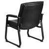 Hercules Series Big and Tall Leather Executive Chair - Black - FLSH-GO-2136-GG