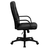 Glove Faux Leather Executive Office Chair - High Back, Swivel, Black - FLSH-H8021-GG