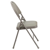 Hercules Series Ultra Premium Folding Chair - Extra Large, Gray - FLSH-HA-MC705AV-3-GY-GG