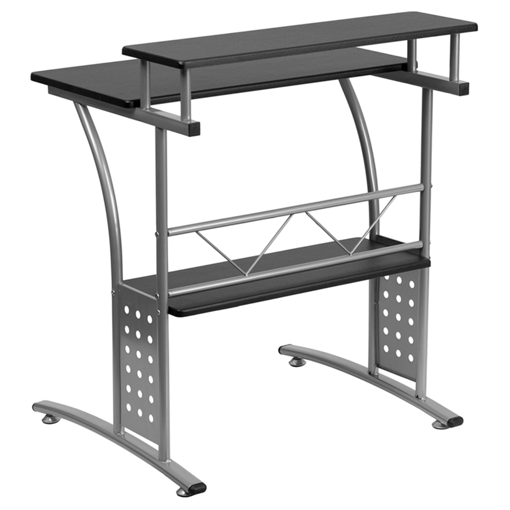 Clifton Computer Desk Black Dcg Stores