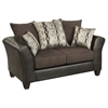 Riverstone Rip Sable Chenille Loveseat - Brown - FLSH-RS-4173-01L-GG