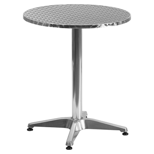 "23.5"" Round Bistro Table - Aluminum"