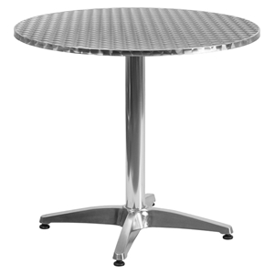 "31.5"" Round Bistro Table - Aluminum"