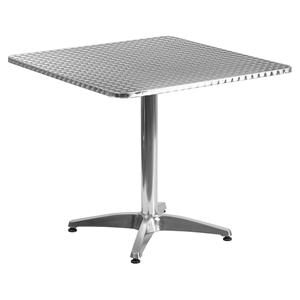 "31.5"" Square Bistro Table - Aluminum"