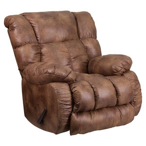 Breathable Comfort Padre Rocker Recliner - Almond