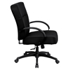 Hercules Series Big and Tall Office Chair - Height Adjustable Arms, Swivel - FLSH-WL-723ATG-BK-GG
