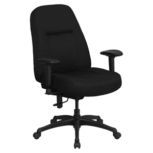 Hercules Series Big and Tall Office Chair - Black, Swivel, High Back