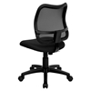 Mid Back Mesh Task Chair - Swivel, Black - FLSH-WL-A277-BK-GG