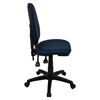 Mid Back Task Chair - Multi Functional, Adjustable Lumbar Support, Navy - FLSH-WL-A654MG-NVY-GG