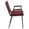 Hercules Series Stack Chair - Ganging Bracket, Red - FLSH-XU-60154-BY-GG