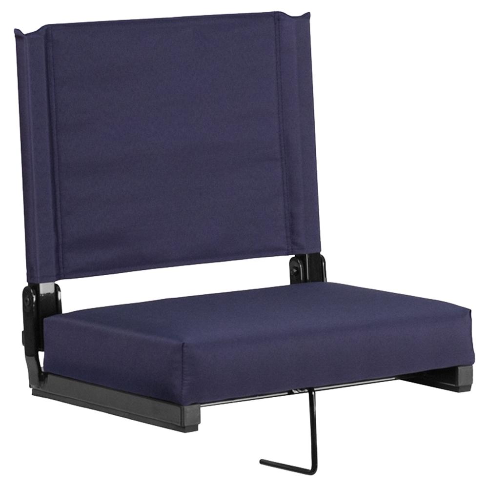 Stadium Chair Ultra Padded Seats Navy Dcg Stores