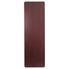 "30"" x 96"" Rectangular Banquet Table - Folding, Mahogany - FLSH-YT-3096-HIGH-WAL-GG"