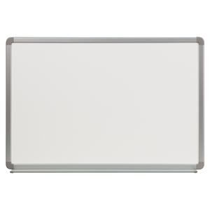 "36"" x 24"" Porcelain Magnetic Marker Board - White"