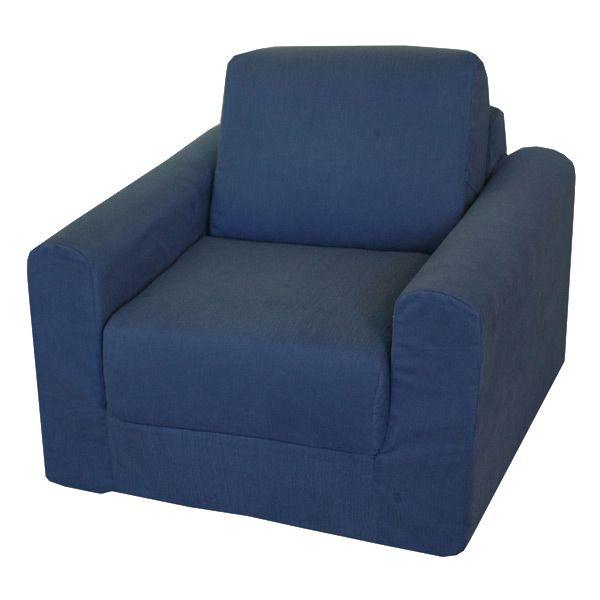 Kids Chair Sleeper In Denim