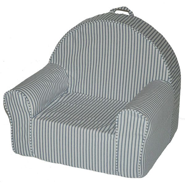 Kid S My First Chair In Blue Stripe Dcg Stores