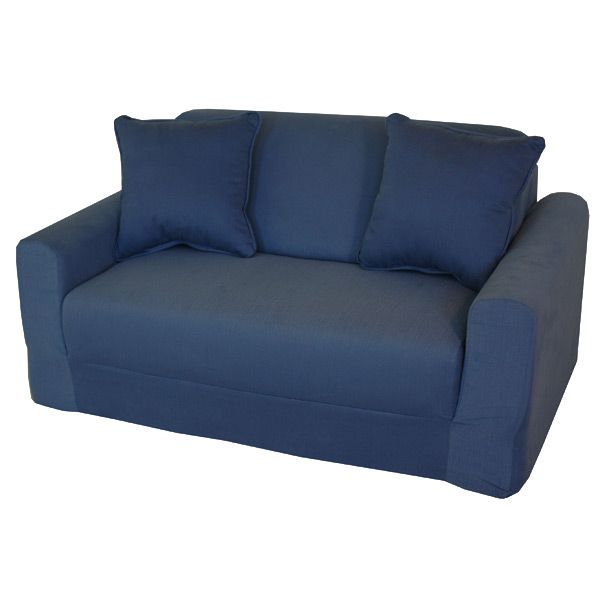 Kids Sofa Sleeper in Denim