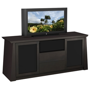 70 Contemporary Asian TV Stand with Tapered Legs