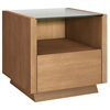 Contemporary End Table with Drawer - FURN-FT23CC