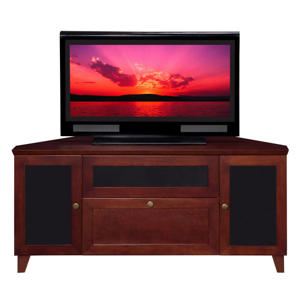 61 Wide Shaker Corner TV Stand Console