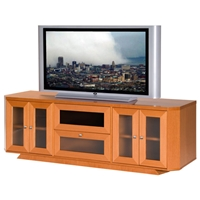70%27%27 Wide Adjustable Shelf TV Stand Console