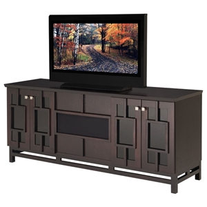 70%27%27 Modern Asian TV Stand in Wenge