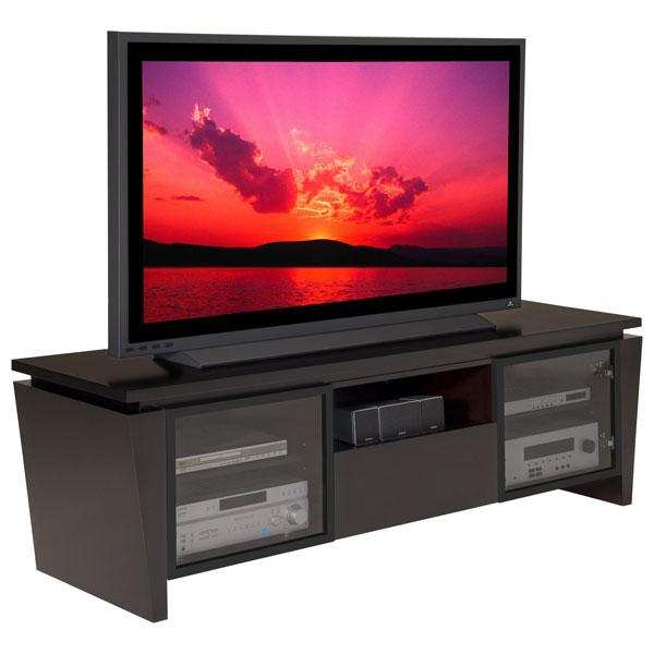 75 Modern Tv Stand In Wenge Dcg Stores