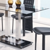 Tiago Glass Dining Table - GLO-2108-DT