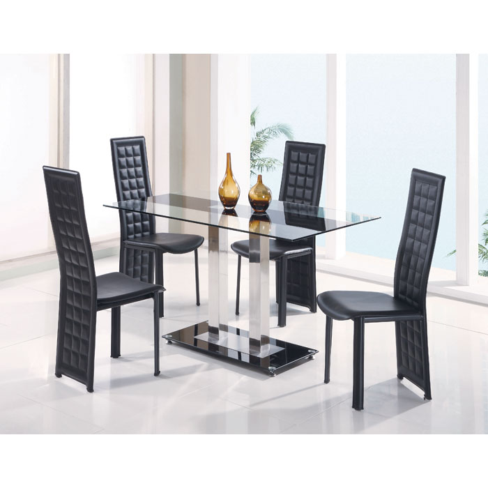Dinning Tables Set Part - 27: Tiago 5 Piece Dining Set