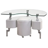 Mayara End Table with Stool - GLO-288E-ET-XX