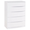 Aurora Chest in White - GLO-AURORA-WH-CH-M