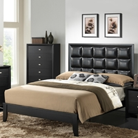 Carolina Bed Black