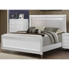 Catalina Bed in Metallic White - GLO-CATALINA-MET-WH-M-BED
