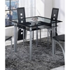 Sophia Counter Height Table - Black Stripe - GLO-D1058BT-M