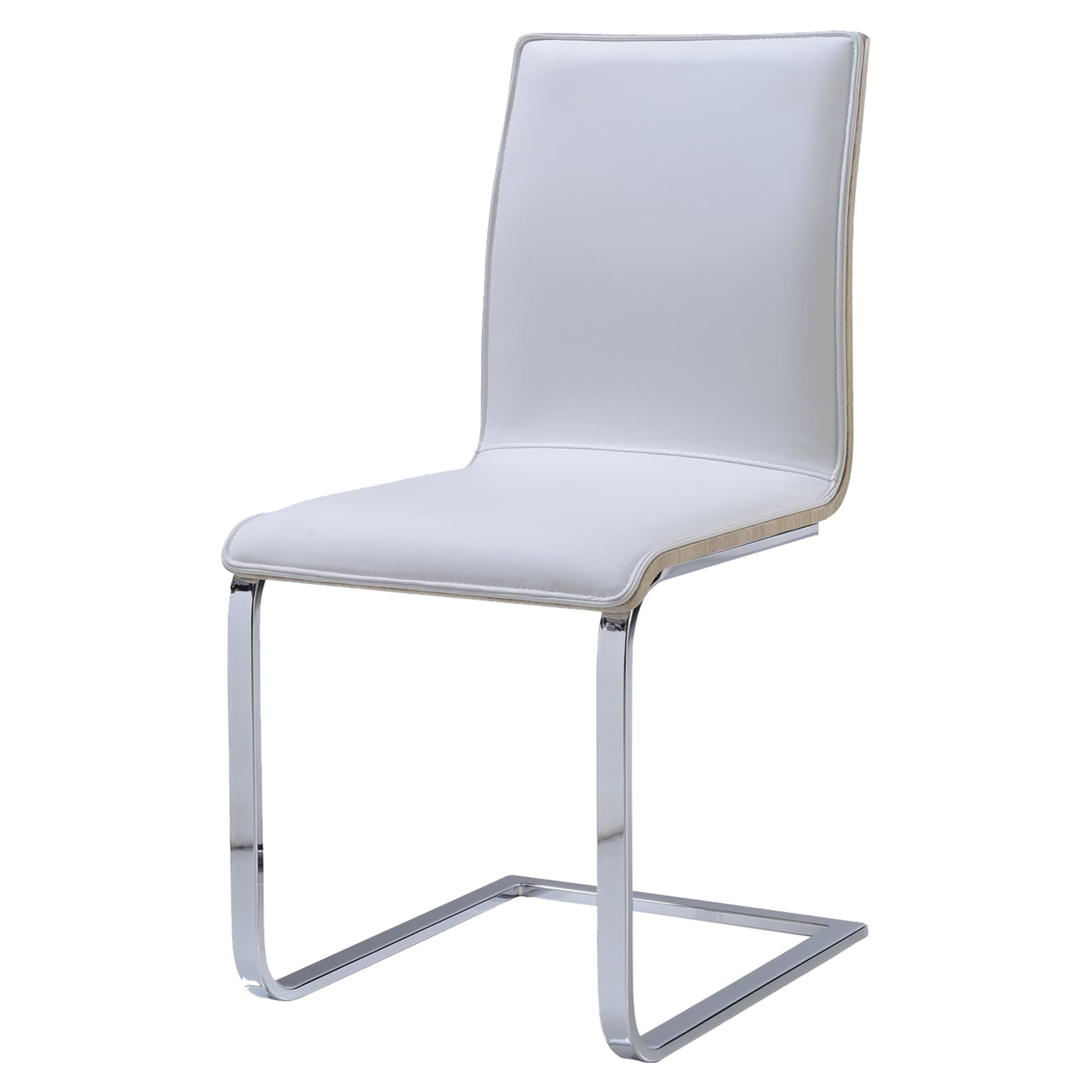 Arianna Dining Chair in White - GLO-D2123DC