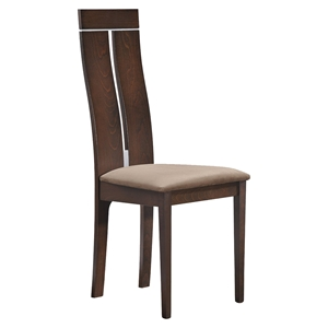 Lillian Dining Chair - Dark Walnut