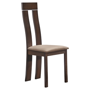Gabrielle Dining Chair in Dark Walnut