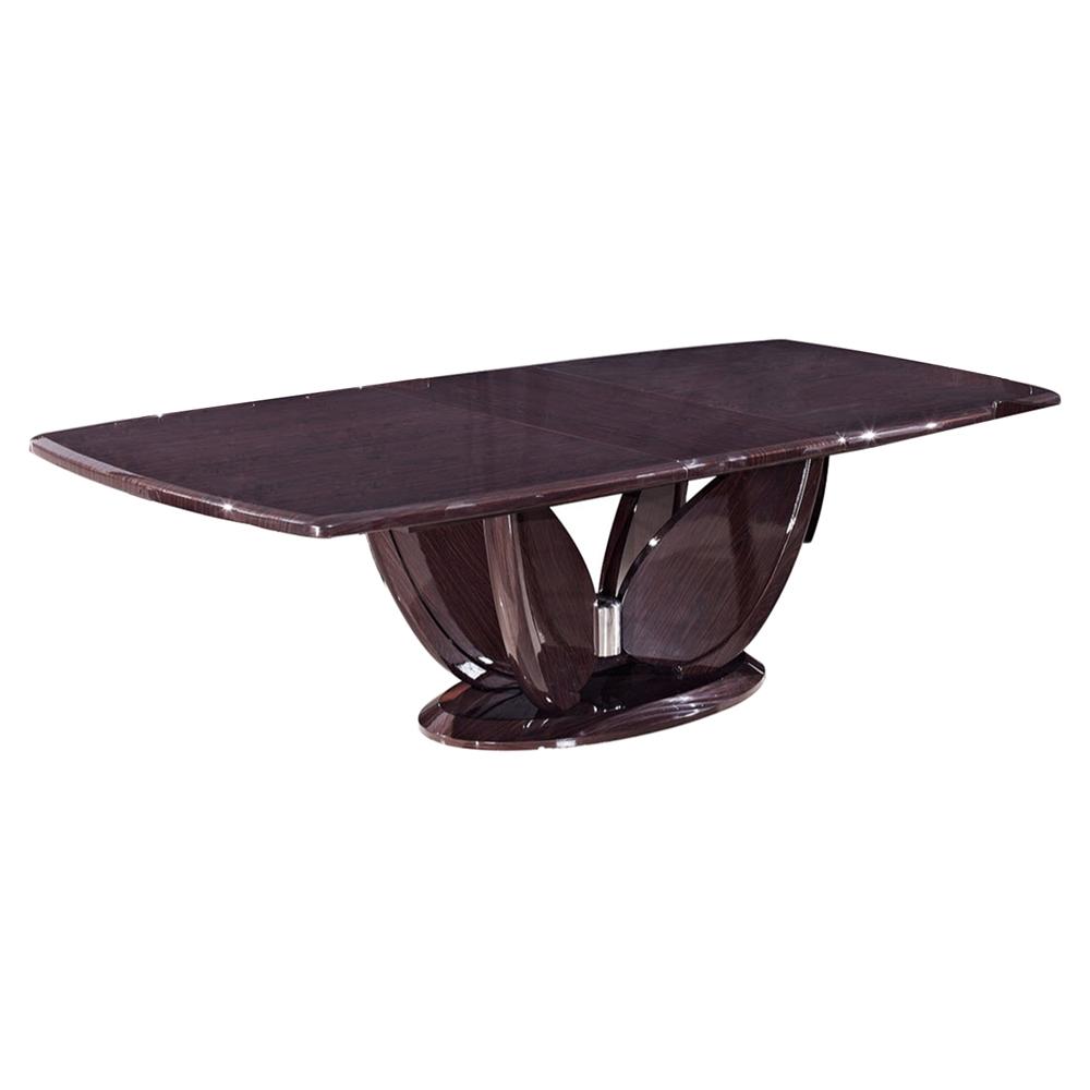 sara dining table wenge dcg stores. Black Bedroom Furniture Sets. Home Design Ideas