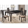 Paige Extension Dining Table - Dark Walnut - GLO-D6601DT-M