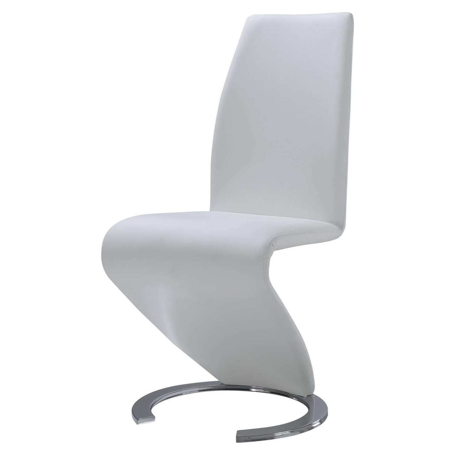Skylar Dining Chair - White - GLO-D9002DC-WH-M