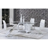 Skylar Dining Table - White - GLO-D9002DT-M