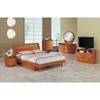 Emily Bed - Cherry - GLO-EMILY-B86-CH-BED