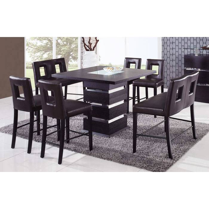 Brinley 7 Piece Pub Set with Benches