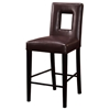 Brinley Leather Bar Stool - GLO-G072-BS