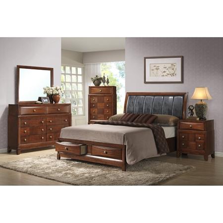 Oasis Bedroom Set Oak Finish Dcg Stores