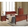 Philippe Bedroom Set in Cherry - GLO-PHILIPPE-BED-SET
