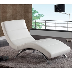 Garrett Chaise Lounge - White
