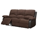 Alondra Reclining Sofa Set in Rider Chocolate - GLO-U1710-CHOC-SET