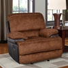 Delaney Glider Recliner Chair in Trailblazer Pecan - GLO-U1958-G-R-M
